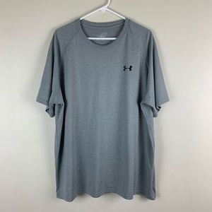 Under Armour Men's Heatgear Loose Fit T-Shirt Gray